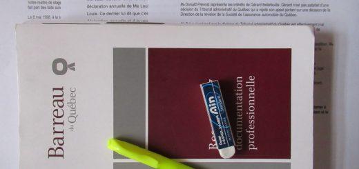 Barreau du Quebec Ethics Deontologie Examens Anterieurs Past Exams